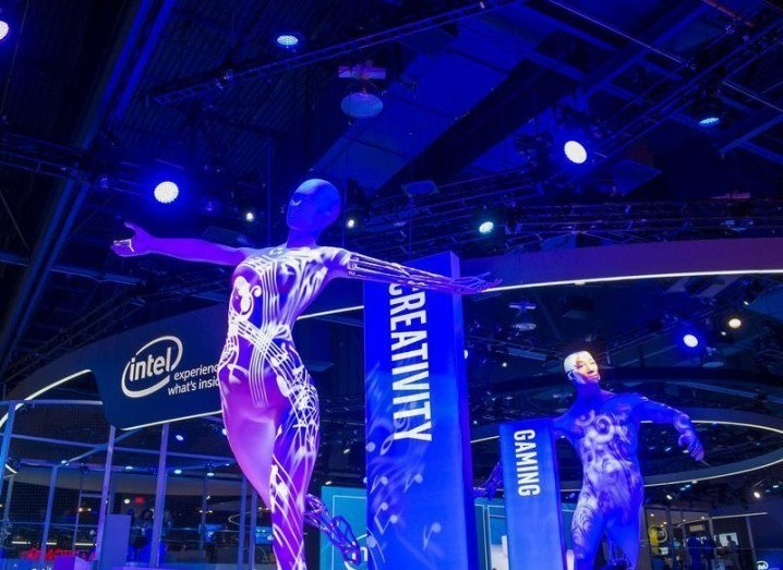 Intel diversity report: Intel stand at CES
