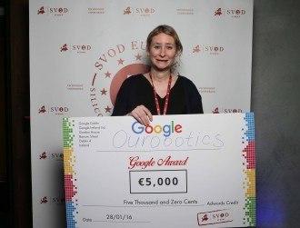 Irish start-up Ourobotics takes top European award