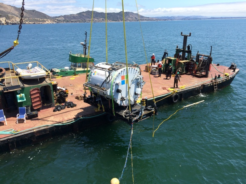 Microsoft has built an underwater data centre
