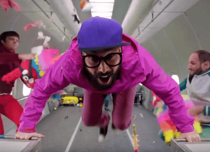 OK Go zero gravity