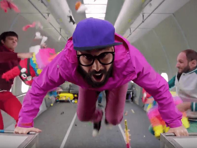 Watch: OK Go, zero gravity and an amazing video
