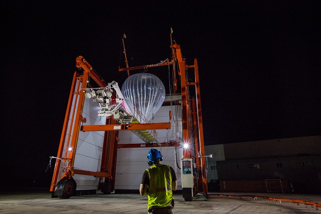 Project Loon loading