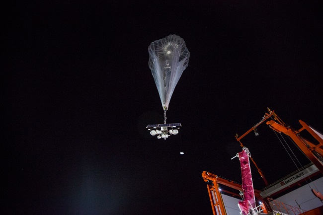 Project Loon launched