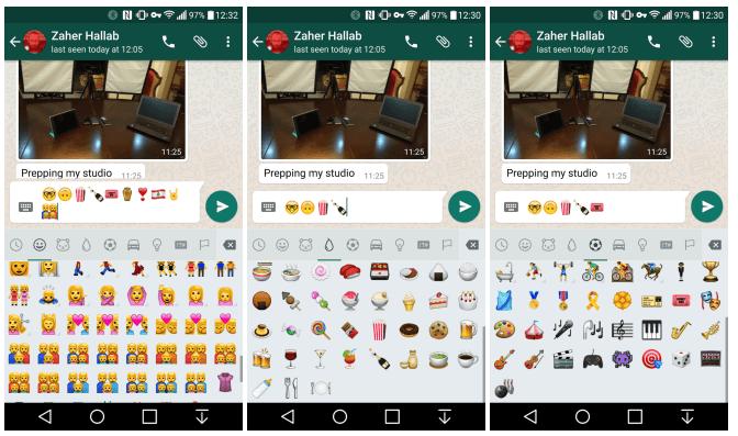 Emoji Android WhatsApp