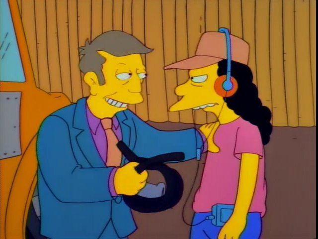 Simpsons Skinner Otto