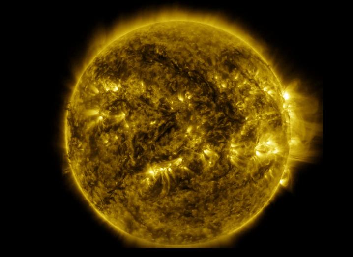 The sun Nasa
