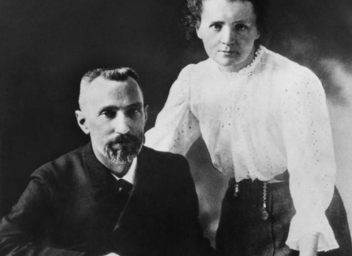 Women scientists - Pierre and Marie Curie
