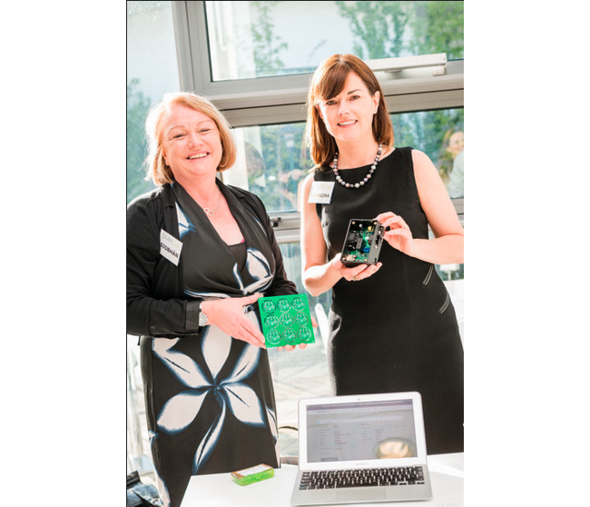 Siobhán Ní Chofaigh and Georgina Kearney of Mint Tek