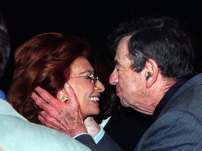 Valentine's Day: Walter Matthau, Sophia Loren