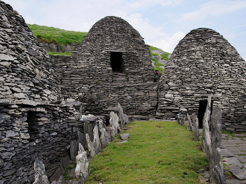 The beautiful Skellig Michael featured in the latest Star Wars film. Image via Shutterstock