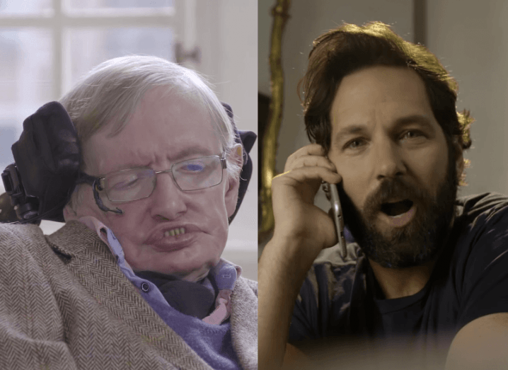 Stephen Hawking vs Paul Rudd