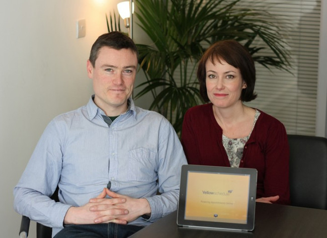 YellowSchedule co-founders Michael and Martina Skelly – start-ups