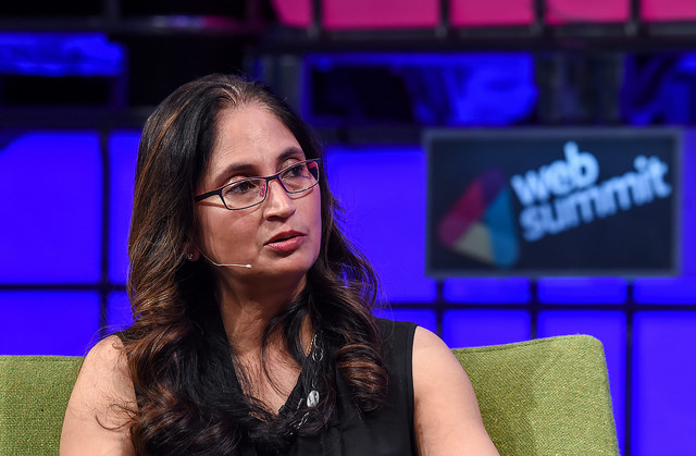 Padmasree Warrior, NextEV. Image via Flickr/WebSummit
