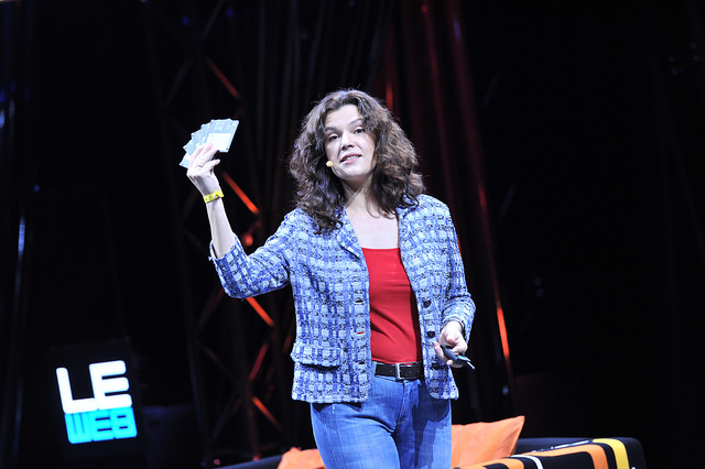Jane Zavalishina, Yandex Data Factory. Image via Flickr/LeWeb3