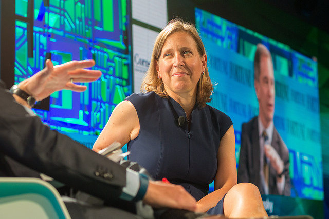 Susan Wojcicki, YouTube. Image via Flickr/FortuneBrainstormTech