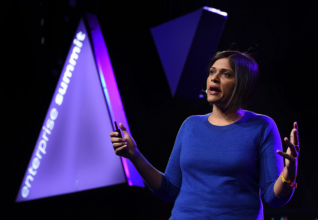 Aparna Chennapragada on stage at Web Summit last year. Image via Flickr/WebSummit