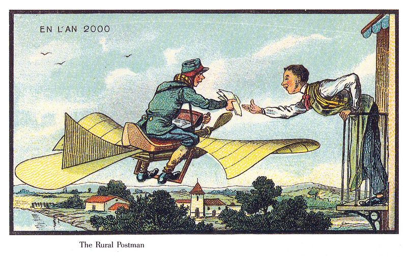 Closer than we think: How 19th and 20th century artists imagined the future