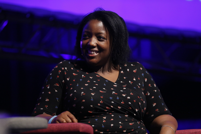 Anne Marie Imafidon at Inspirefest 2015. Photo by Robbie Reynolds/Conor McCabe Photography