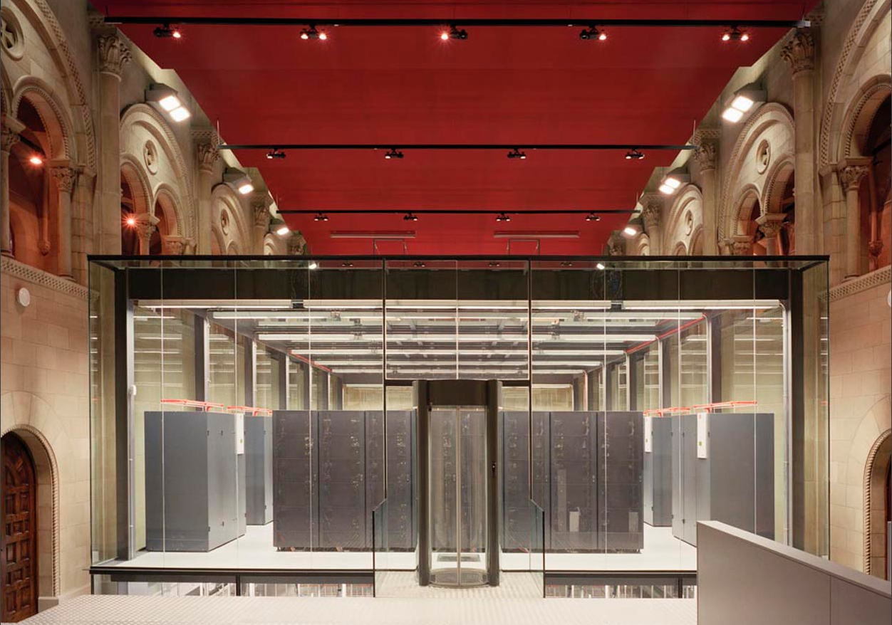 Barcelona cool data centre