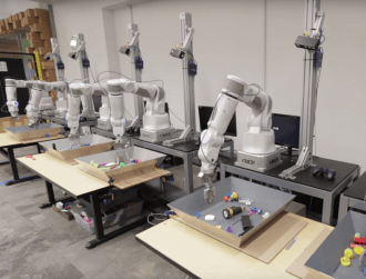 Google develops dextrous robots with Borg-like hive mind