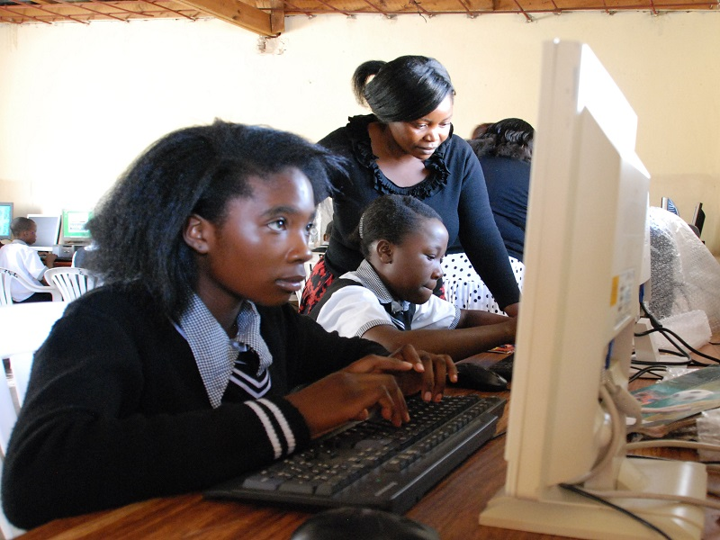 Camara Zambia shows massive uptake in computer studies for girls