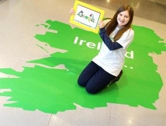 Cork girl wins Doodle 4 Google 2016 with Irish celebration