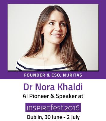 Inspirefest speaker Dr Nora Khaldi