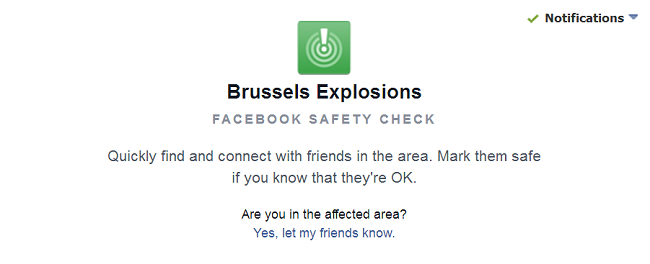 Safety Check Brussels