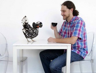 VR chickens and robot bees feature in new Science Gallery Dublin exhibit