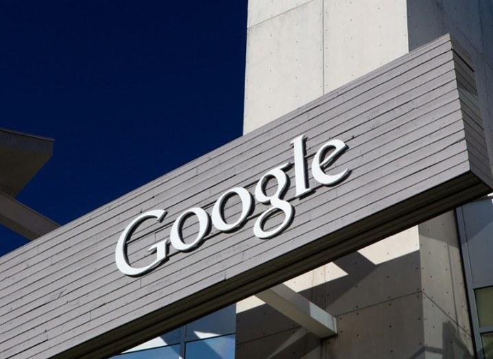 Machine learning: Google signage
