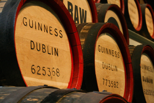 Guinness Storehouse image via Ccharmon on Flickr