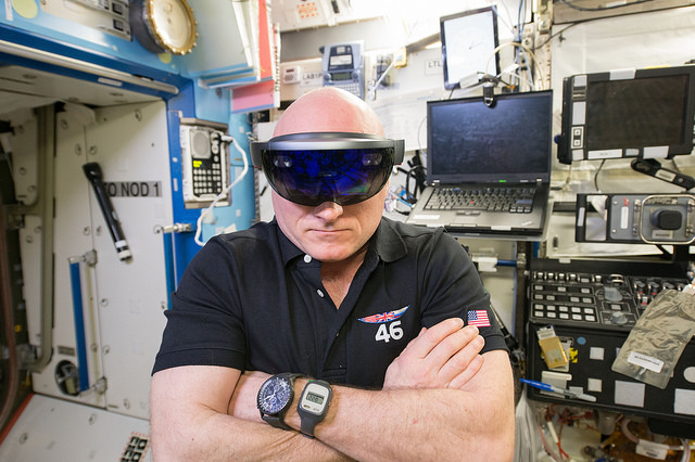 HoloLens Scott Kelly