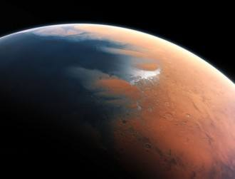 Billions of years ago, Mars' surface was completely different