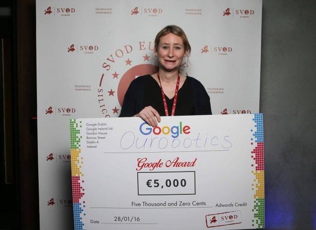 Jemma Redmond, founder and CEO of Ourobotics