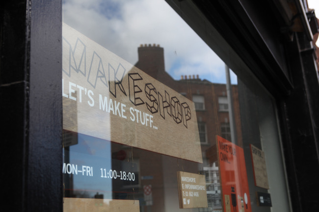Makeshop on Nassau Street, Free Tour of Dublin