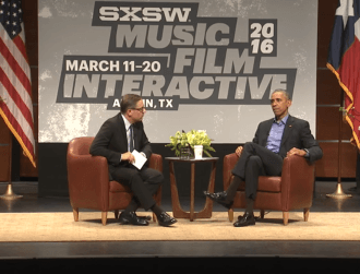 Obama tells SXSW tech industry and govt need to strike a balance on encryption