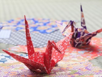 A single sheet of graphene folded up is micro origami at its best