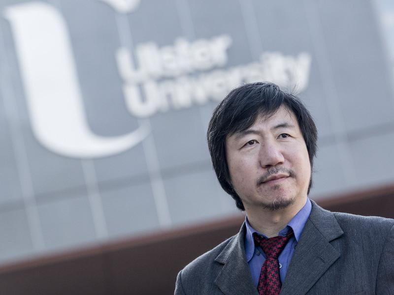 Professor Hui Wang, via Nigel McDowell/Ulster University