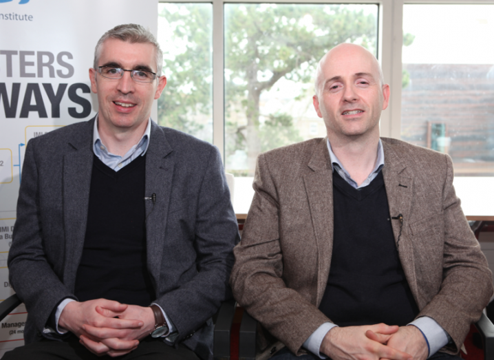 Data Management: Dr Tadhg Nagle and Dr David Sammon, IMI