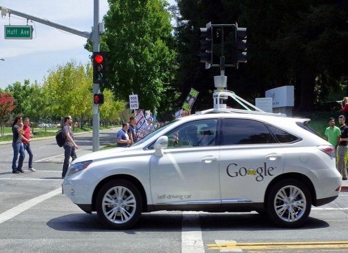 google car crashes