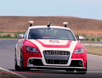 Watch: Shelley, a driverless car that races at 120mph