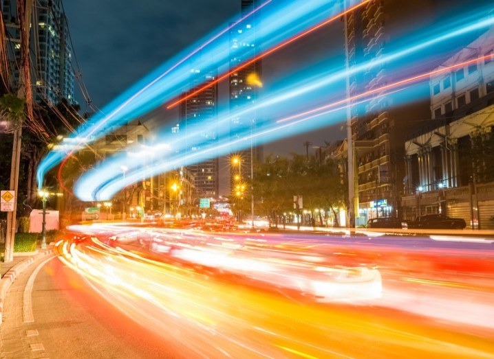 Internet speed data record