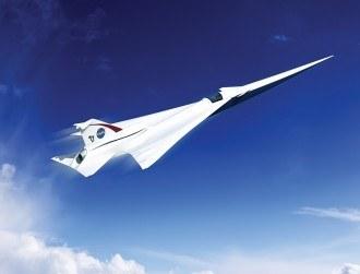 Lockheed Martin working on whisper-quiet supersonic passenger jet
