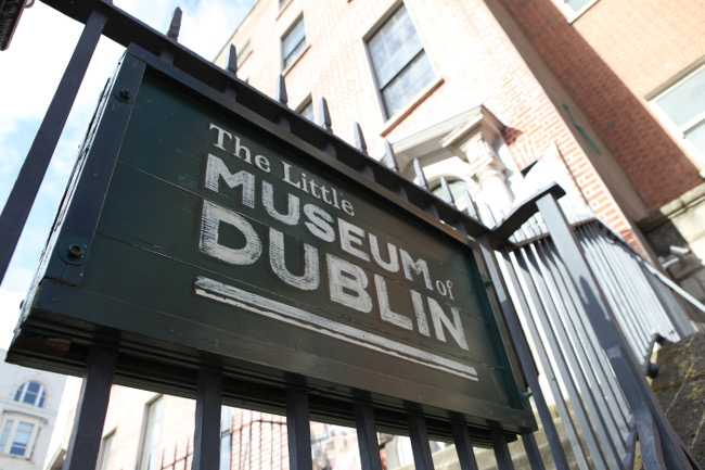 The Little Museum of Dublin, via Luke Maxwell