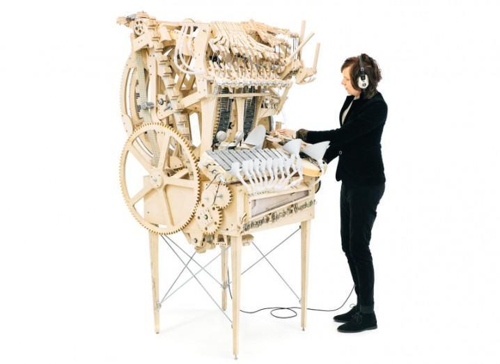Wintergartan Marble Machine marbles