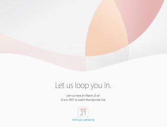 Apple Watch and iPhone on agenda as Apple invites media to 21 March event