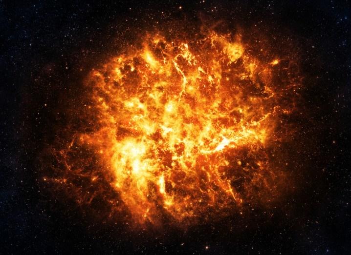 NASA Kepler explosion supernova star