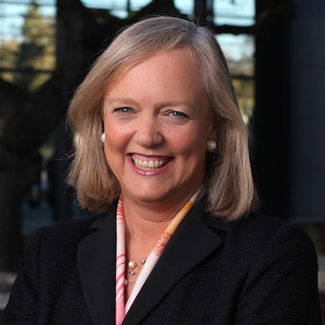 Meg Whitman, Hewlett Packard Enterprise. Image via HPE