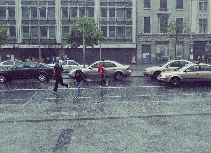 Dublin rain water sensor smart cities
