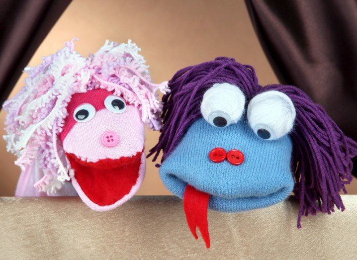 Face2Face sock puppets